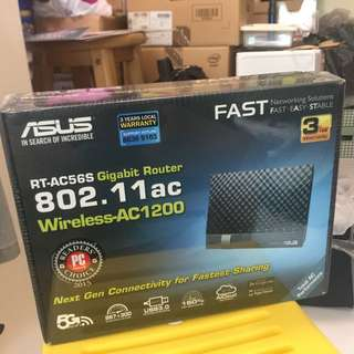 Asus RT-AC56S Gigabit Router Wireless AC-1200