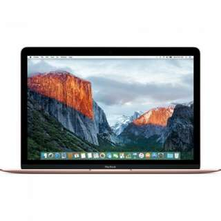 Dp 10% Kredit Tanpa Kartu Kredit APPLE MacBook 12 MMGM2 Rose Gold