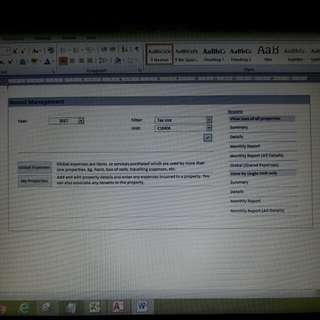 Rental Management System
