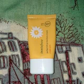 Innisfree perfect UV triple care sun cream