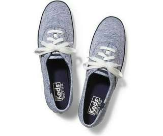 Keds Original Women Champion Jersey Blue Grey