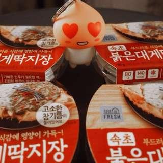 韓國直送GS25人氣紅蟹蟹膏醬 最後3盒😋