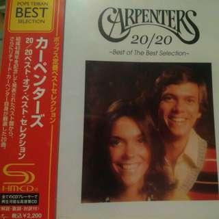 Carpenters 20/20 Best of SHM-CD