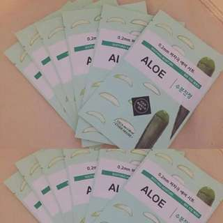 $1.30 Etude House Masks Aloe