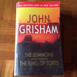 The Summons/ The King of Torts- John Grisham