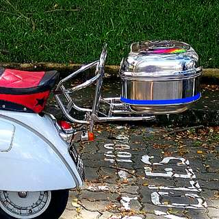 Stainless Steel Box MOTORCYCLE Scooter