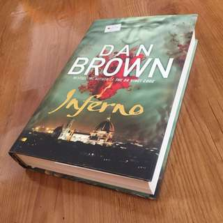 INFERNO (hardcover english) by Dan Brown