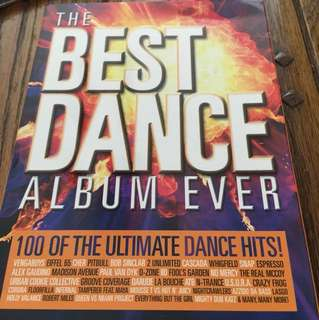 The Best Dance Album Ever 6x CD