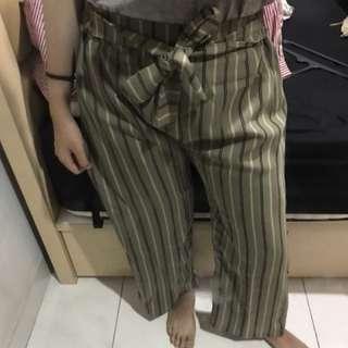 stripes cullote