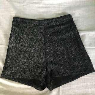 Sparkly shorts
