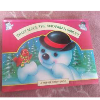 REPRICED!!! What Made the Snowman Smile?
