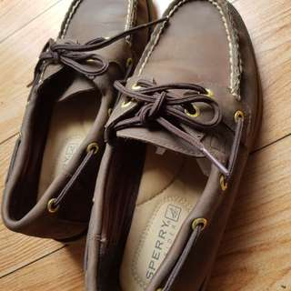 Sperry Leather Topsider (Would pass as new)