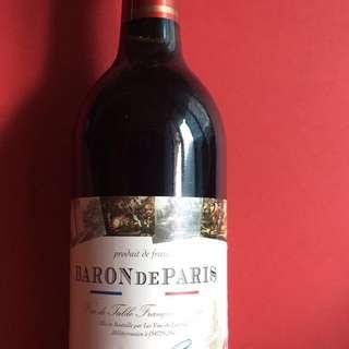 Baron de Paris Red Wine