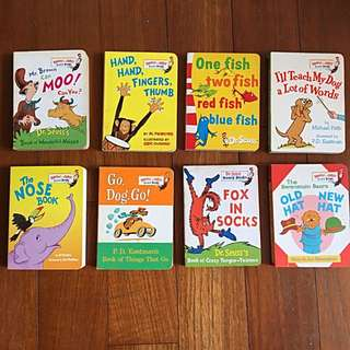 Dr Seuss Board Books