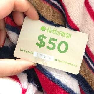 Hello fresh GiftCard