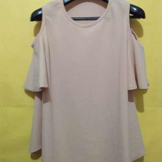 Off shoulder top (Beige)