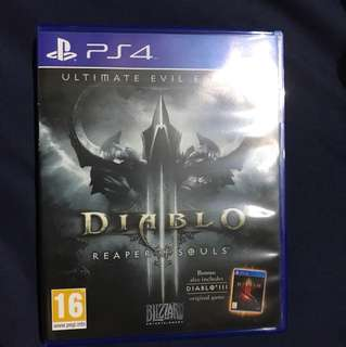 PS4 Diablo ultimate evil edition