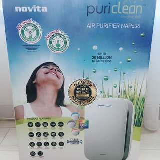 (BN) Novita Air Purifier NAP606 with FREE DELIVERY
