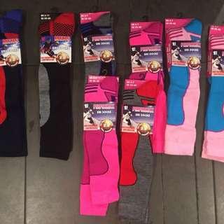 Assorted ski socks