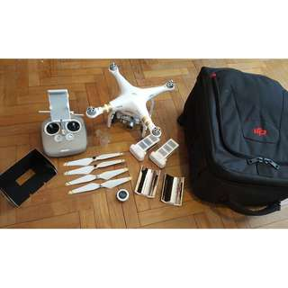DJI Phantom 3 Professional + Accessories