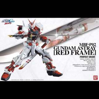 PG Gundam Astray Red Frame 1/60