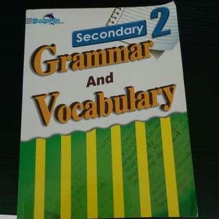 Secondary 2 grammar and vocabulary