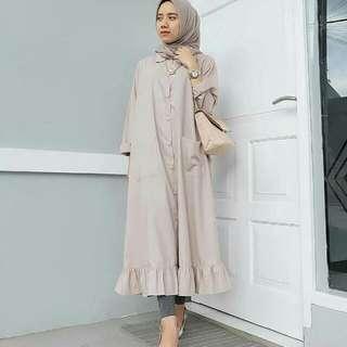 Velove Dress Mocca