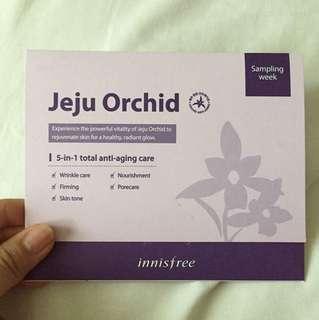Innisfree jeju orchid sample