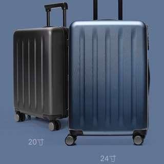 🚚 小米 24吋行李箱-極光藍