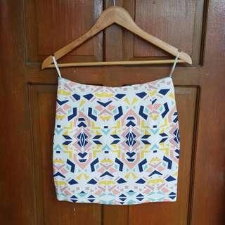 FREE SF Aztec Skirt