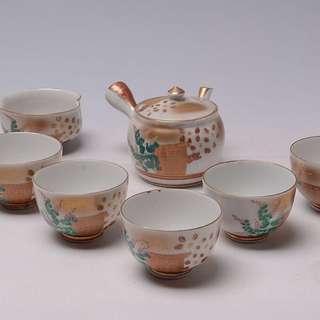 日本九谷燒瓷茶器