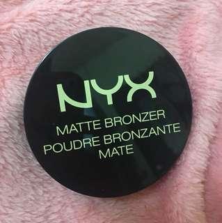 95%FULL! NYX matte bronzer