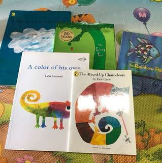 Famous recommended children storybooks