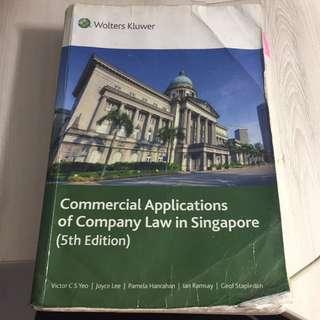 AC2302 Company Law Textbook