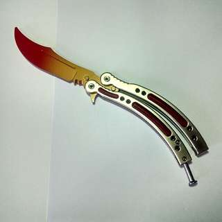 CSGO Butterfly Knife Fade