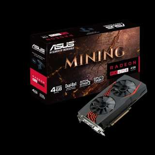 ASUS MINING-RX470-4G-LED DUAL FAN (3 MONTHS)