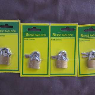 small locks x4 for sale^new^