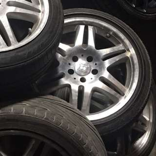 "Brabus Original 18"" with tires"