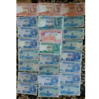 old money duit lama Malaysia