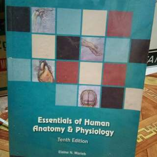 Essentials of Human Anatomy and Physiology 10th Ed by Elaine Marieb