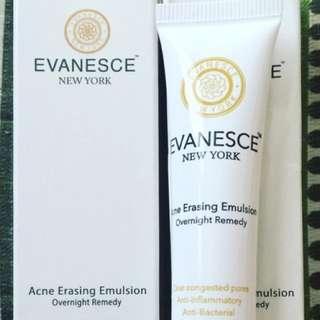 EVANESCE NEW YORK ACNE ERASING EMULSION