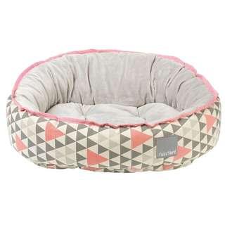 FuzzYard Reversible Bed - Pink Rock