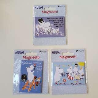 Moomin fridge magnets