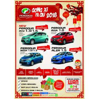 PROMOTION CHINESE NEW YEAR 2018