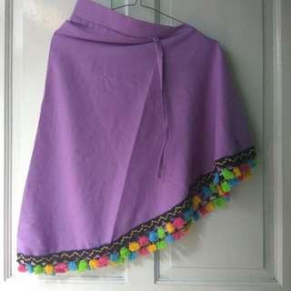 Kerudung tasel (ungu)