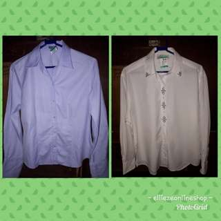 Ann Taylor and Christine Alexander Longsleeves