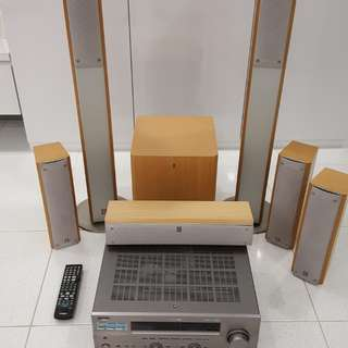 Yamaha 6-Channel Home Theatre System