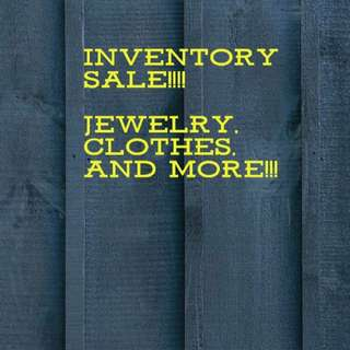 Inventory Sale all items repriced!