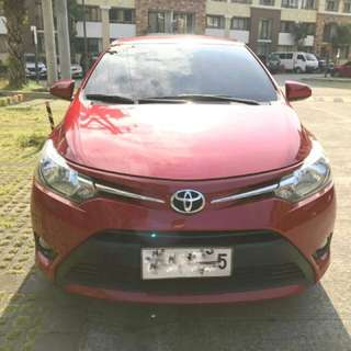 Toyota Vios E 2014 for Assume Balance (Rush)