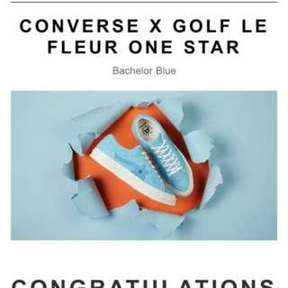 Converse X Golf le fleur golf Wang us7